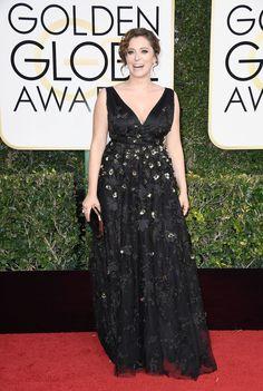 Rachel Bloom  Les meilleurs (et les pires!) looks du tapis rouge des Golden Globes 2017