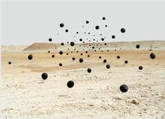 Black Balloons in the Desert