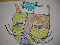 The Elementary Art Room!: Paul Klee Cat and Bird