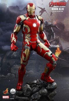 Hot Toys : Avengers: Age of Ultron - Iron Man Mark XLIII 1/4th scale Collectible Figure