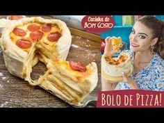 Bolo de Pizza de Pepperoni | Cozinha do Bom Gosto - YouTube