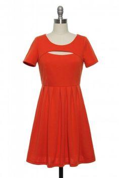 Cut-Out as a Button Dress