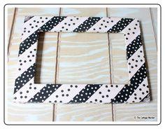 The Cottage Market: Washi Tape DIY Frame Tutorial