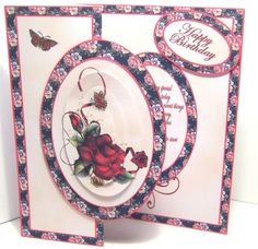 Red Rose with Verse Mini Kit - CUP425793_173   Craftsuprint