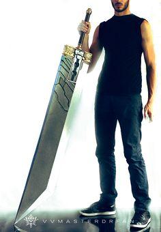 Crisis Core Buster Sword - Mark III by vvmasterdrfan