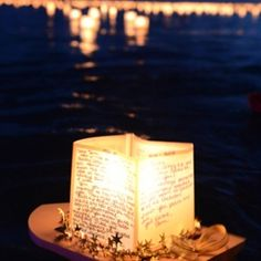 If you can't get to this ceremony, perhaps you can recreate one in your community: The Lantern Floating in Hawaii gives people a personal moment to remember, reflect, and offer gratitude to those who came before us. It's a chance to be surrounded by the love, understanding, and support of others who are experiencing many of the same feelings and emotions.