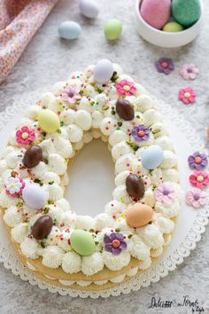 Sugar Cookie Cakes, Cake Cookies, Cupcake Party, Cupcake Cakes, Easy Easter Recipes, Number Cakes, Cake & Co, Easter Chocolate, Easter Treats