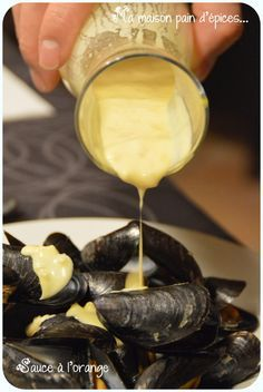 Sauce a l'orange Barbacoa, Scalloped Oysters, Seafood Recipes, Cooking Recipes, Marinade Sauce, Homemade Seasonings, Sauces, Pesto Sauce, Salads
