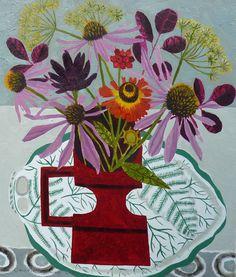 Paintings | Vanessa Bowman Art #guestpinner @HappyMakersBlog @homeandgardenNL