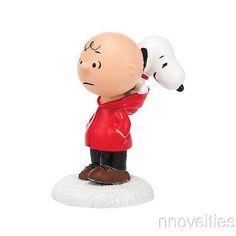 Peanuts Village Dog In The Hood 4038644 Charlie Brown Snoopy NIB