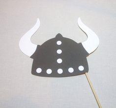 Viking Helmet Photo Booth Prop Wedding Photo by CleverMarten