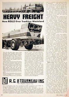 Tc 497 Overland Train : overland, train, TC-497, LeTourneau, Overland, Train, Ideas, Train,, Overlanding,, Trucks