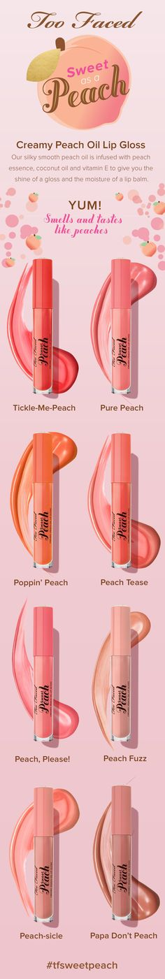 // Pinned so many Sweet Peach makeups, it might as well make sense to pin a collection of'em. //