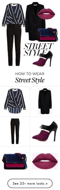 """Elegant Street Style"" by aleks-stanisavljevic on Polyvore featuring WithChic, rag & bone, Gucci, STELLA McCARTNEY, Marni, contestentry and nyfwstreetstyle"