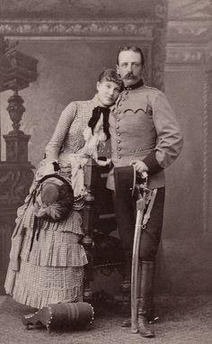 carolathhabsburg: Sweet couple. Poland, 1880s,
