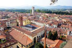 Lucques et les thermes de Bagni di Lucca