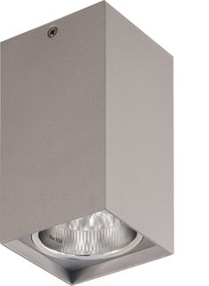 Bathroom Lighting New Zealand vada square surface mount down light - white, ceiling lights