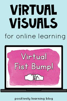 Virtual Visuals are a way to connect with our students online. We miss them and they miss us! This is an easy way to provide common directions (virtually), plus add feedback during our distance learning.