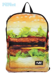 Hamburger backpack, $20. (http://winners.ca/en/index.asp)