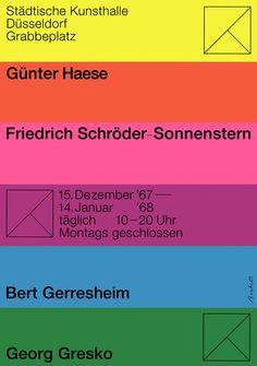 Breker (Walter, DE) 1967 Haese Schröder-Sonnenstern Gerresheim Gresko Kunsthalle Düsseldorf Plakat A1 | Flickr - Photo Sharing!