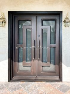 Are you looking for a new iron door? One that provides protection and style to your home? If so, we look forward to serving you! 💡 About this design: Oslo Double Entry Iron Door ☎️️ 877-205-9418 🌐 www.iwantthatdoor.com