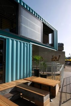 1000 images about cool customised containers on pinterest wahaca shipping containers and - Wahaca shipping container restaurant ...