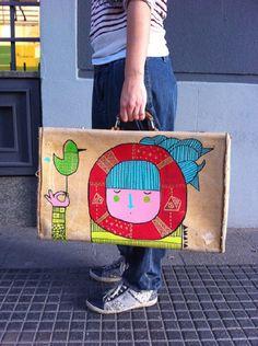 Bye, bye Madrid - amaia arrazola illustration