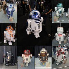 R2 Units Star Wars Celebration Anaheim 2015 R2-D2 Builders Club