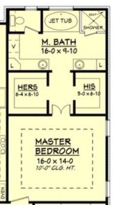 Ooh, nice layout for upstairs loft. Only, I would put a small bathroom opposite . - - Ooh, nice layout for upstairs loft. Only, I would put a small bathroom opposite . Master Bedroom Addition, Master Bedroom Plans, Master Bedroom Bathroom, Bath Room, Bathroom With Closet, Bath Tub, Master Bedroom Design, Bedroom Bed, Bedroom Decor