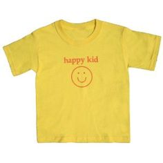 Happy Kid Yellow Shirt - Youth Small, S/S (Apparel)  http://store.celebszine.com/mliud.php?p=B005ALFGHQ  B005ALFGHQ