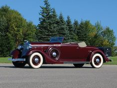 1934 Lincoln Model KB Convertible Roadster by LeBaron Lincoln Motor Company, Ford Motor Company, Vintage Cars, Antique Cars, Factory Records, Car Trash, Ford 4x4, Lincoln Continental, Cars For Sale