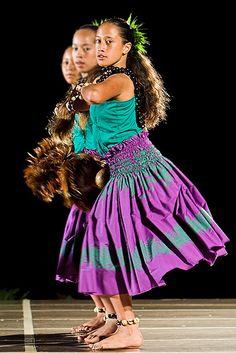 Hula competition at Waikaloa Hilton, Big Island  (12 and 13 yr olds)