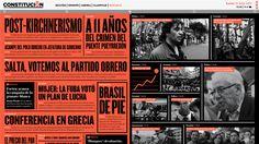 Diseño de un diario online._Design for an online newspaper_Trabajo realizado junto con María LafitaJulio 2013 — Diseño 3 Cátedra Gabriele