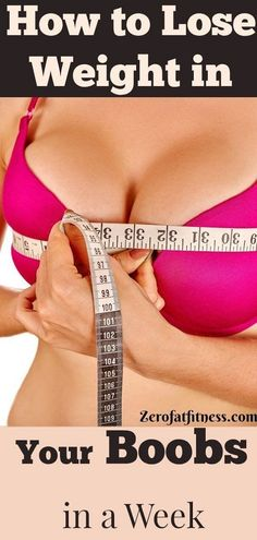 Lose weight in breasts