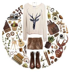 """woodland"" by cosmonautical on Polyvore"