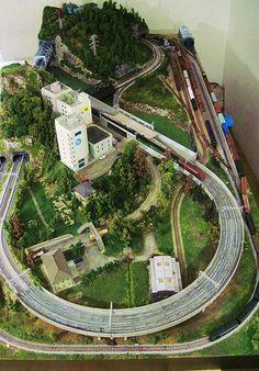 Model Train Layouts N Scale | by Rasch Studios