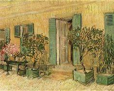 Exterior of a Restaurant at Asnieres - Vincent van Gogh - 1887