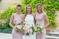 Especially Amy | Traditional Pink Wedding at Merriscourt