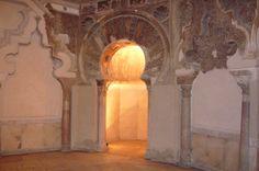 La Aljafería - Mihrab de la Mezquita