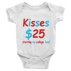 Starting My College Fund Short Sleeve Baby Onesies - #shirterrific #apparel #clothing #shopping #shopsmallbusiness #shoponline #shoppingonline #shoppingusa #shoppinginsta #deals #hotdeals #promotions #sales #buynow #bargains #bestbuy #bestseller #bestselling #shopping #onlineshop #onlineshopping #shoppingonline #instashop #store #stores #onlinestore #shopandsave #now #today . #ShopNow From Our Profile Link! . Shirterrific was born from the love of funny t-shirts and good humour we specialize…