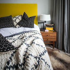 Chunky knit 'Beni' throw - £336.00 - Hide and Seek London