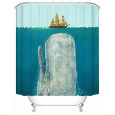 Boat Shower Curtain Hooks