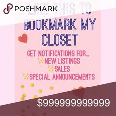 {Bookmark for New Arrivals~Sales~Announcements} Like this listing to be notified of new arrivals, sales, announcements and much more! 🌸✨ Other