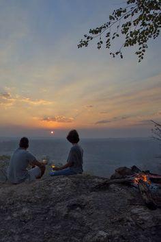 Enjoy a sundowner at Kubatana Camp Gorongosa