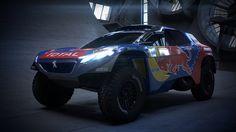 PEUGEOT 2008 DKR16: Um carro felino e agressivo no Dakar 2016