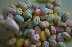 mini easter egg sugar cookies