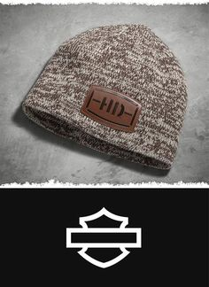 Challenge the most wicked forecasts. | Harley-Davidson Men's Marled Knit Hat