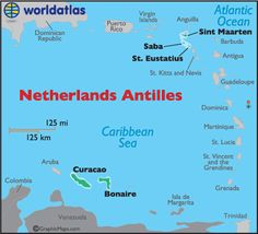 map of the netherlands antilles, netherlands antilles maps
