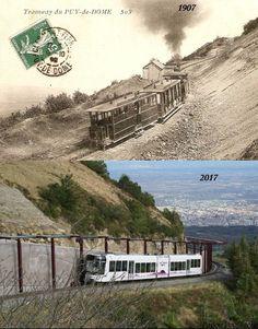 Du tram au panoramique au Puy de Dome Clermont Ferrand, Service Public, France, Guide, Trains, Alps, Pintura, Back To The Future, Audio Engineer