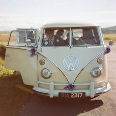 Beige hippie van. Oh, I actually love all the colours they come in! :)